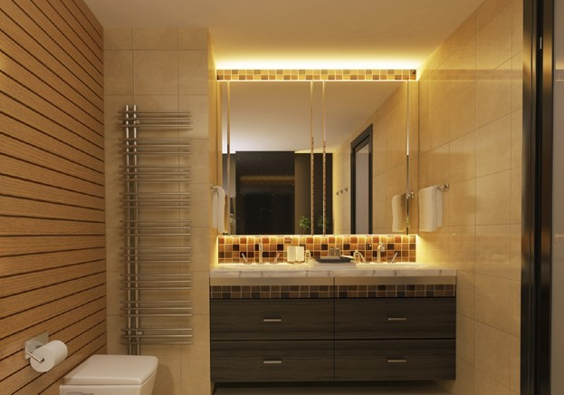 Led hotel decorative lamp