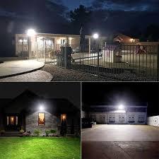 Brightness landscape lights for large sites